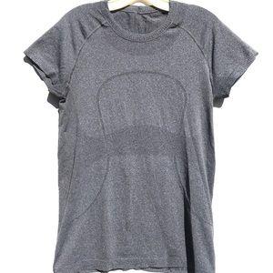 LULULEMON gray swiftly tech short sleeve top 10